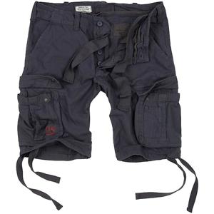 Surplus Kalhoty krátké Airborne Vintage Shorts antracitové 3XL