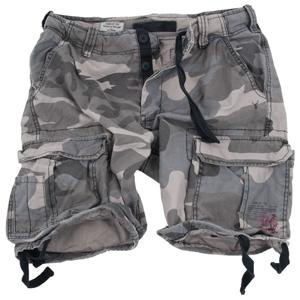 Surplus Kalhoty krátké Airborne Vintage Shorts nightcamo 7XL