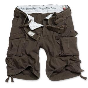 Surplus Kalhoty krátké Division Shorts hnědé M