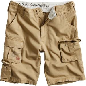 Surplus Kalhoty krátké Trooper Shorts béžové XL