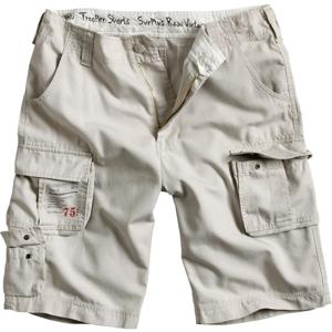 Surplus Kalhoty krátké Trooper Shorts bílé oprané M