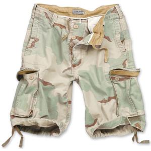 Surplus Kalhoty krátké Vintage Shorts desert 3 barvy XXL