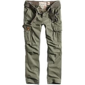 Surplus Kalhoty Premium Slimmy olivové M