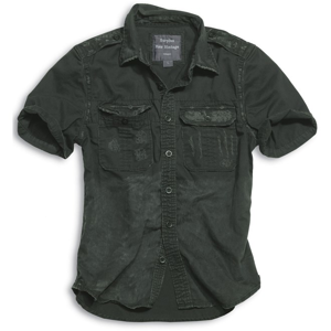 Surplus Košile Raw Vintage Shirt 1/2 černá L