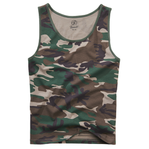 Tílko Tank Top BRANDIT woodland 4XL