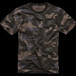 Tričko US T-Shirt BRANDIT darkcamo XL