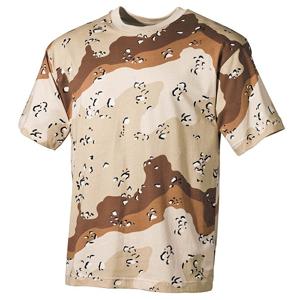 Tričko US T-Shirt desert 6 barev L
