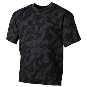Tričko US T-Shirt nightcamo 6XL