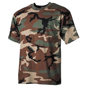 Tričko US T-Shirt woodland M